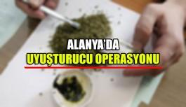 Alanya'da uyuşturucu operasyonu 2 gözaltı