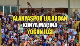 Alanyaspor'lulardan Konya maçına yoğun ilgi