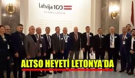 Altso heyeti Letonya'da