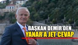 Başkan Demir'den Yanar'a jet cevap