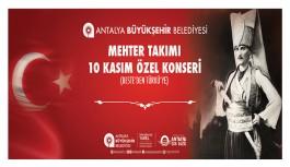 Büyükşehir'den Ata'ya saygı gecesi