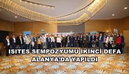 ISITES SEMPOZYUMU İKİNCİ DEFA ALANYA'DA YAPILDI