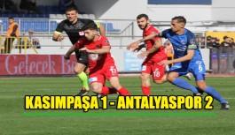 Kasımpaşa - 1 Antalyaspor - 2