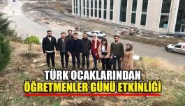 Türk Ocaklarından Öğretmenler Günü etkinliği