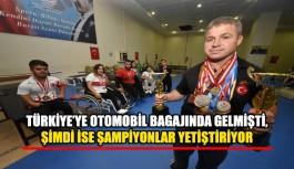 Türkiye'ye otomobil bagajında gelmişti, şimdi şampiyonlar yetiştiriyor
