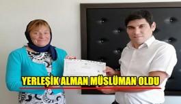 Yerleşik Alman Müslüman oldu
