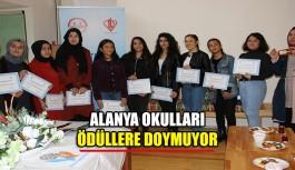 Alanya Okulları ödüllere doymuyor