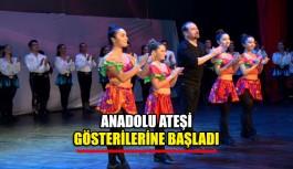 Anadolu Ateşi gösterilerine başladı