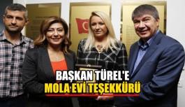 Başkan Türel'e mola evi teşekkürü