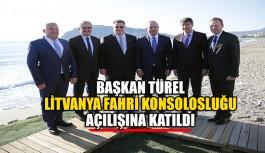 Başkan Türel, Litvanya Fahri Konsolosluğu açılışına katıldı