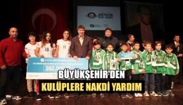 Büyükşehir'den amatör kulüplere nakdi yardım
