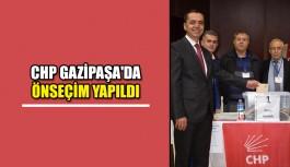 Chp Gazipaşa'da önseçim yapıldı