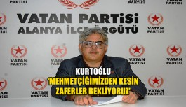 Kurtoğlu 'Mehmetçiğimizden kesin zaferler bekliyoruz'