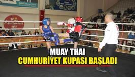 Muay Thaı Cumhuriyet Kupası Başladı