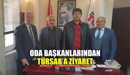 Oda Başkanlarından TÜRSAB'a ziyaret