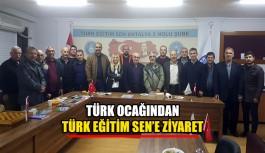 Türk Ocağından Türk Eğitim Sen'e Ziyaret
