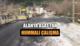 Alanya ASAT'tan hummalı çalışma