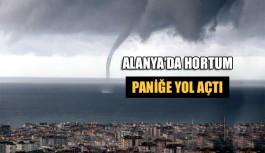 Alanya'da hortum paniğe yol açtı