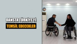 Dansta Türkiye'yi temsil edecekler
