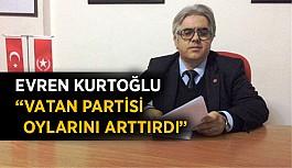 """Başkan Kurtoğlu: """"Vatan Partisi oylarını arttırdı"""""""