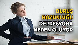 Duruş bozukluğu depresyona neden oluyor