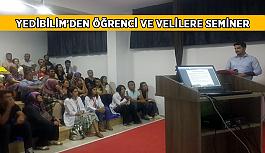 Yedibilim'den öğrenci ve velilere seminer