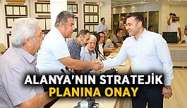 Alanya'nın stratejik planına onay