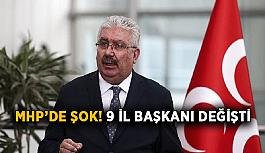 MHP'de şok! 9 il başkanı değişti