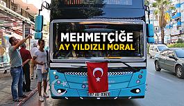 Mehmetçiğe Ay Yıldızlı moral