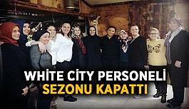 White City personeli sezonu kapattı