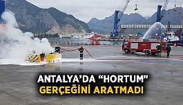 """Antalya'da """"hortum"""" gerçeğini aratmadı"""