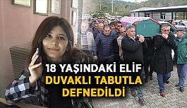 18 yaşındaki Elif duvaklı tabutla defnedildi