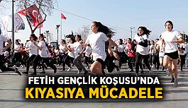 Fetih Gençlik Koşusu'nda kıyasıya mücadele
