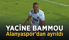 Yacine Bammou Alanyaspor'dan ayrıldı