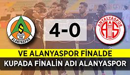 Alanyaspor finalde! Türkiye Kupası'nda finalin adı Alanyaspor