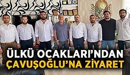Ülkü Ocakları'ndan Çavuşoğlu'na ziyaret