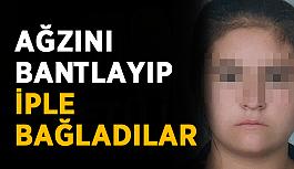 Antalya'da genç kadına şok! Ağzını bantlayıp zorla arabaya attılar