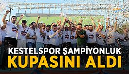 Kestelspor şampiyonluk kupasını aldı