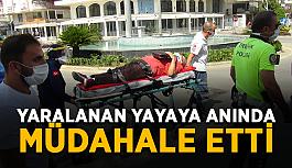 Antalya'da yaya geçidinde kaza: 2 yaralı