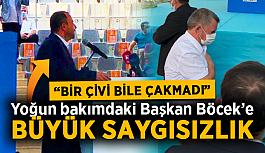 """CHP'liler kongreyi terk etti! AK Partili Taş: """"Bir tane çivi çakmadılar"""""""