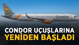 Condor Antalya uçuşlarına yeniden başladı