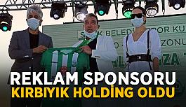Reklam sponsoru Kırbıyık Holding oldu
