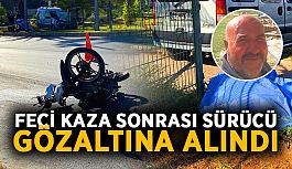 Alanya'da ki ölümlü kazada sürücü gözaltına alındı