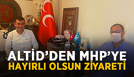 ALTİD'den MHP Alanya'ya ziyaret