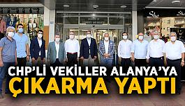 CHP'li vekiller Alanya'ya çıkarma yaptı