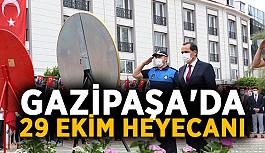 Gazipaşa'da 29 Ekim heyecanı