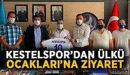 Kestelspor'dan Ülkü Ocakları'na ziyaret