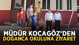 Müdür Kocagöz'den Doğanca okuluna ziyaret