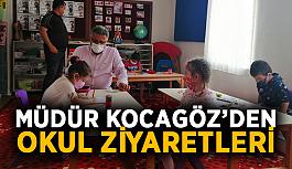 Müdür Kocagöz'den okul ziyaretleri