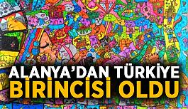 Alanya'dan Türkiye birincisi oldu